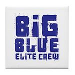 Big Blue Elite Crew Tile Coaster