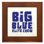Big Blue Elite Crew Framed Tile