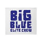 Big Blue Elite Crew Throw Blanket