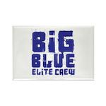 Big Blue Elite Crew Rectangle Magnet (100 pack)