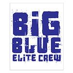 Big Blue Elite Crew Small Poster