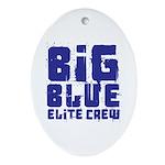 Big Blue Elite Crew Ornament (Oval)