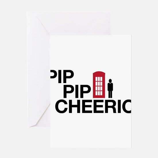 Pip Pip Greeting Card