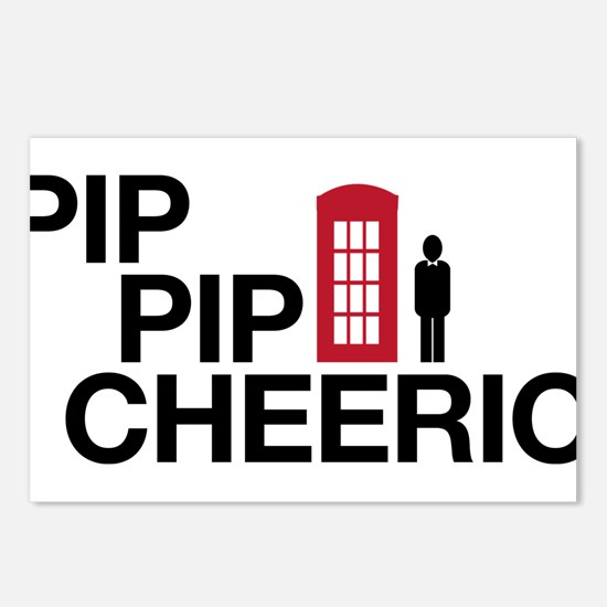Pip Pip Postcards (Package of 8)
