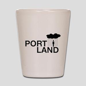 Portland Shot Glass
