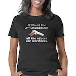 2nd Amendment without dk Women's Classic T-Shirt