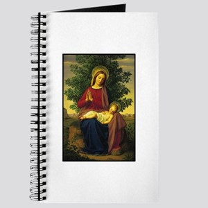 Mother Mary Praying Journal