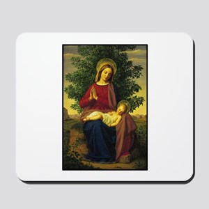 Mother Mary Praying Mousepad