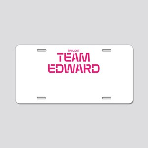 Twilight Team Edward Aluminum License Plate
