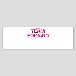 Twilight Team Edward Sticker (Bumper)