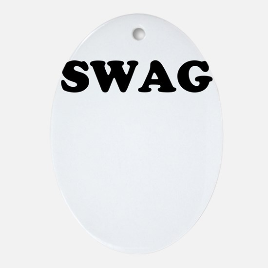 Swag Ornament (Oval)