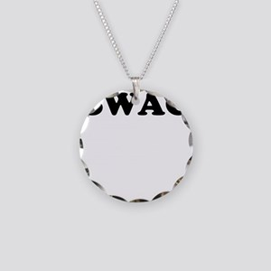 Swag Necklace Circle Charm