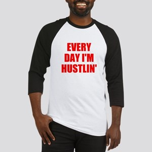 every day i'm hustlin' Baseball Jersey