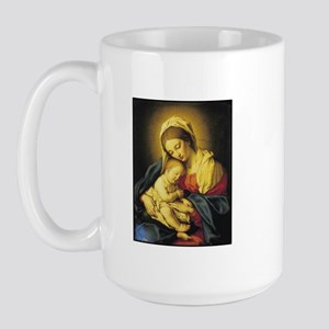 Madonna and Child Large Mug