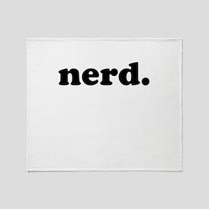 nerd Throw Blanket
