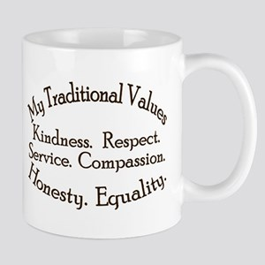 My Traditional Values Mug