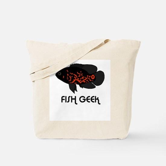 """Oscar """"Fish Geek"""" Tote Bag"""