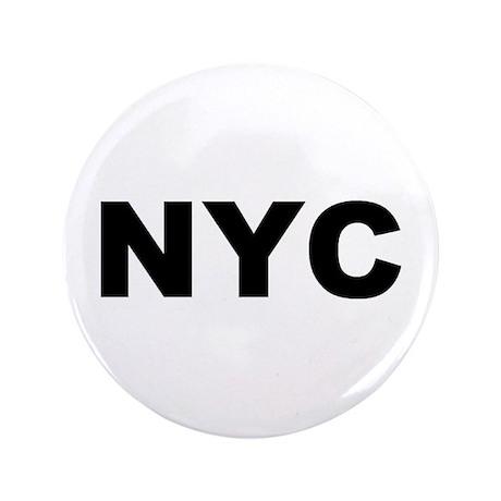 """NYC (NEW YORK CITY, NY) 3.5"""" Button"""