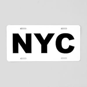NYC - NEW YORK CITY Aluminum License Plate