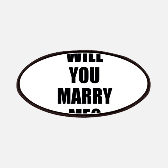 will you marry me? Patches