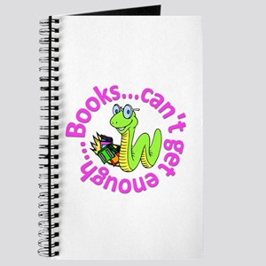 Reading Month Bookworm Journal