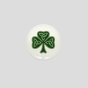 Trinity Shamrock Mini Button