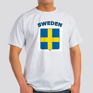 Sweden Ash Grey T-Shirt