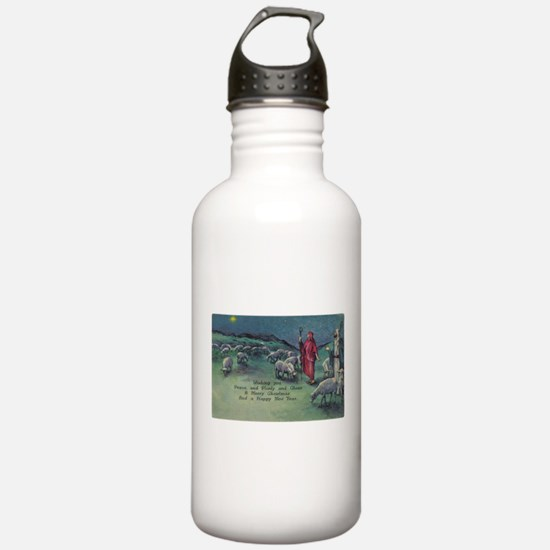 1910 Shepherds and Star Water Bottle