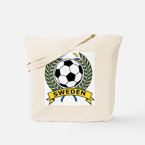 Soccer Sweden Tote Bag