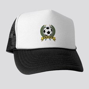 Soccer Sweden Trucker Hat
