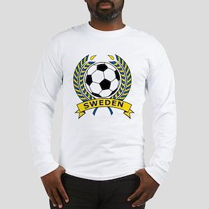Soccer Sweden Long Sleeve T-Shirt