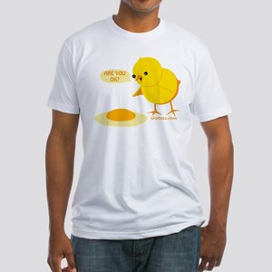 Funny Chick Fitted T-Shirt