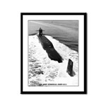 USS JOHN MARSHALL Framed Panel Print