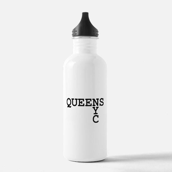 QUEENS NYC Water Bottle
