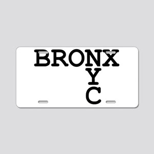 BRONX NYC Aluminum License Plate