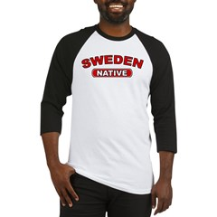 Sweden Native Baseball Jersey