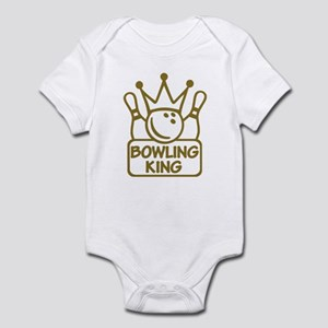Bowling King Infant Bodysuit