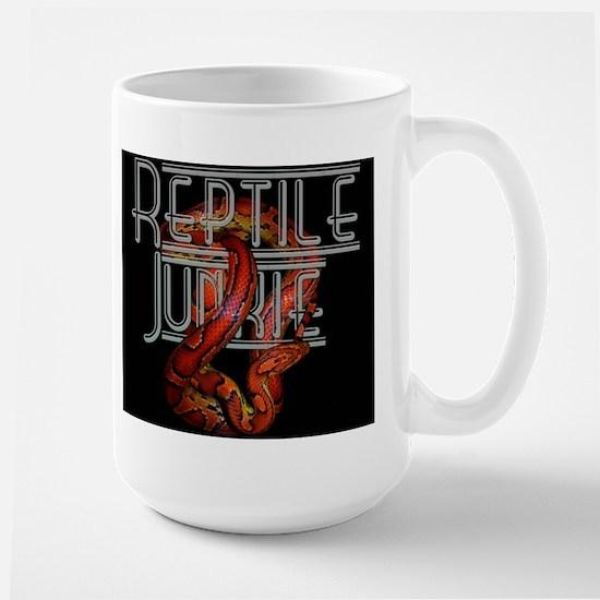 Reptile Junkie Large Mug