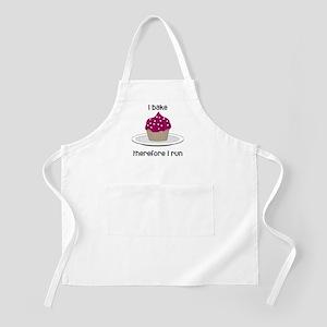 Cupcake w/White Hearts Apron