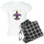Mardi Gras Women's Light Pajamas