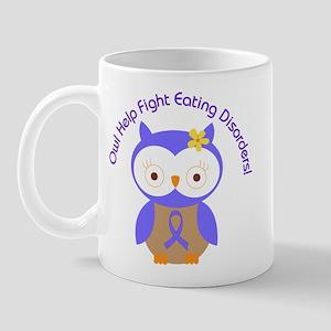 Eating Disorders Owl Mug