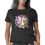 corgi-butterfly Women's Classic T-Shirt