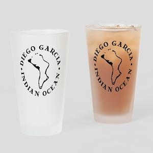 Diego Garcia Drinking Glass