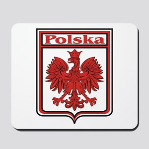 Polska Crest Shield Mousepad