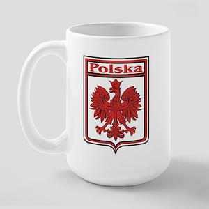 Polska Crest Shield Large Mug