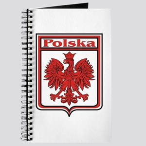 Polska Crest Shield Journal