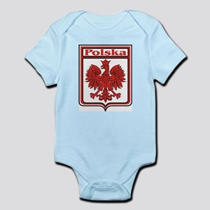 Polska Crest Shield Infant Creeper