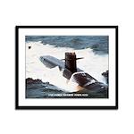 USS JAMES MONROE Framed Panel Print