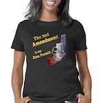2nd amendment gun permit d Women's Classic T-Shirt