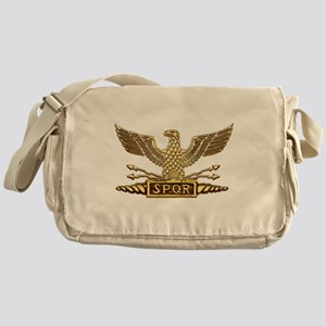 Gold Legion Eagle Messenger Bag